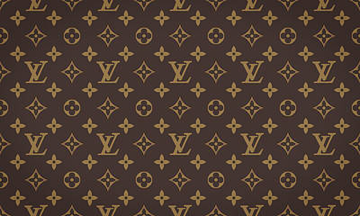 Louis Vuitton Texture Art Print