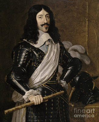 Louis Xiii Of France Art Print by Philippe de Champaigne