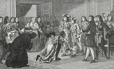 Louis Xiv The Sun King 1638 To 1715 Art Print by Vintage Design Pics