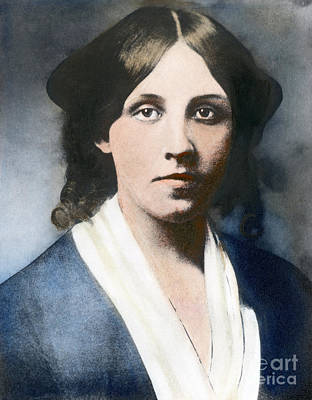 Photograph - Louisa May Alcott by Granger