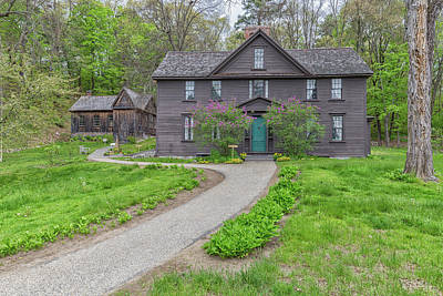 Louisa May Alcott Photograph - Louisa May Alcotts Orchard House by Brian MacLean