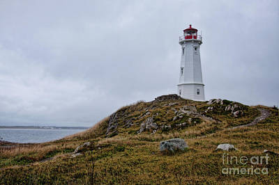 Photograph - Louisburg Nova Scotia Lighthouse by Tatiana Travelways