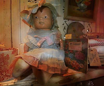 Toy Shop Digital Art - Louise by Valerie Baker