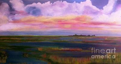 Louisiana Clouds Art Print