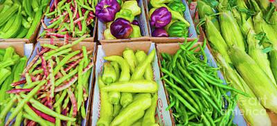 Photograph - Louisiana Creole Vegetable Platter by Kathleen K Parker