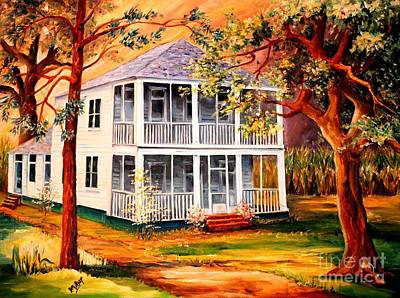 Louisiana Family Home Original by Diane Millsap