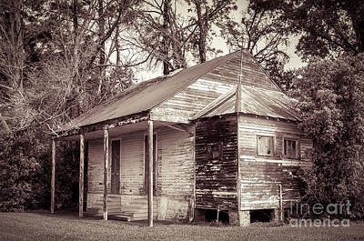 Haunted Shack Photograph - Louisiana House On River Road 2 by Kathleen K Parker