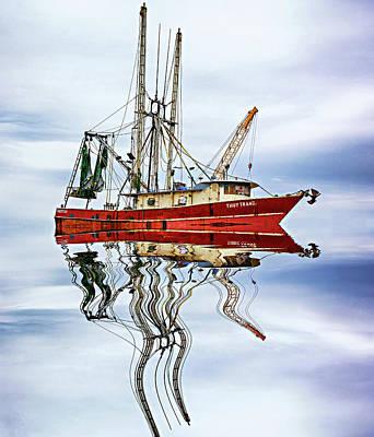 Louisiana Shrimp Boat 4 Art Print