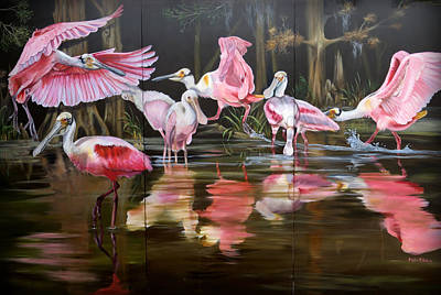 Painting - Louisiana Swamp Secrets by Phyllis Beiser