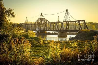 Photograph - Louisiana Swing Bridge by Imagery by Charly