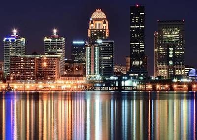 Louisville Big And Bright Art Print by Frozen in Time Fine Art Photography