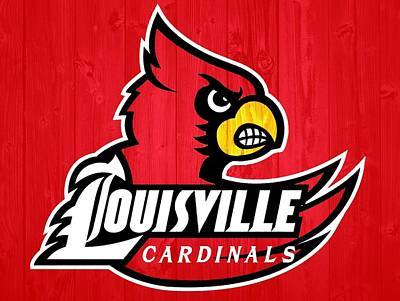 Athletes Royalty-Free and Rights-Managed Images - Louisville Cardinals Barn Door by Dan Sproul