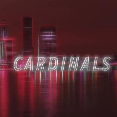 #louisville #cardinals Art Print