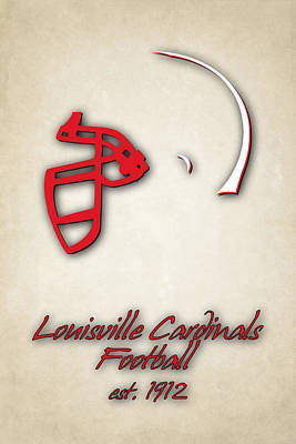 Louisville Cardinals Art Print