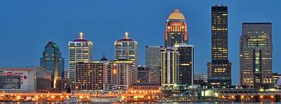 Louisville Panorama Close Up Art Print by Frozen in Time Fine Art Photography