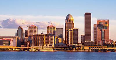 Photograph - Louisville Skyline II by Steven Ainsworth