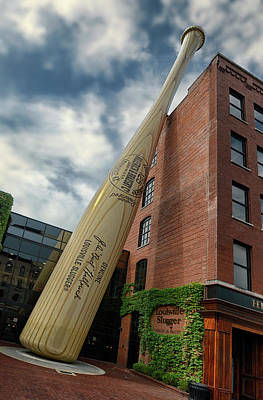 Photograph - Louisville Slugger by Gary Warnimont