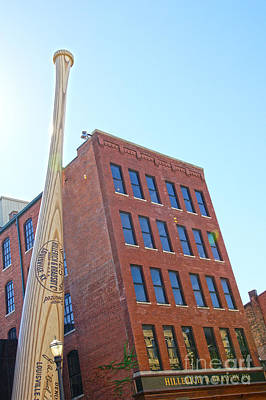 Louisville Slugger Museum Art Print by Nur Roy