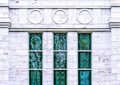 Photograph - Louisville Temple Details by Greg Collins