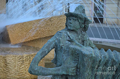 Southern Europe Photograph - Loule's Main Roundabout Statue by Angelo DeVal