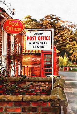 Photograph - Lound Post Office And General Store by Dorothy Berry-Lound