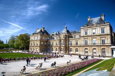 Photograph - Jardin Du Luxembourg by Walt  Baker