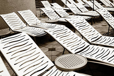 Photograph - Lounging Lines by Marilyn Hunt