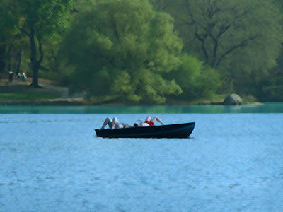 Photograph - Lounging On The Lake by Stan  Magnan