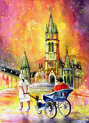 Handicapped Painting - Lourdes Authentic by Miki De Goodaboom