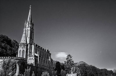 Photograph - Lourdes Cathedral by Jeremy Voisey