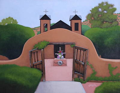 Painting - Lourdes Of America by Gayle Faucette Wisbon