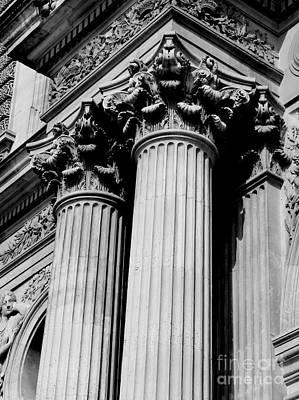 Photograph - Lourve Columns by Amar Sheow