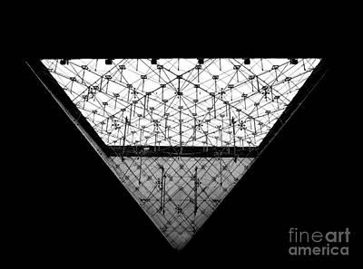 Lourve Pyramid Art Print by Amar Sheow