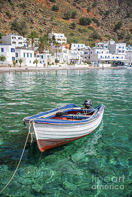 Crete Photograph - Loutro, Crete by Delphimages Photo Creations