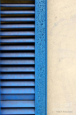 Photograph - Louvered by Todd Blanchard