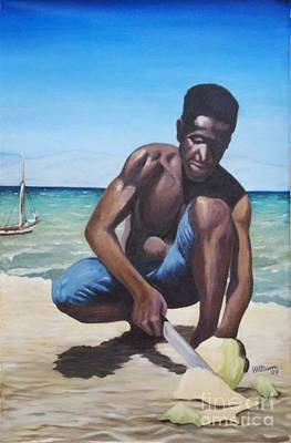 Haitian Painting - L'ouverture by Jean-Marie Poisson