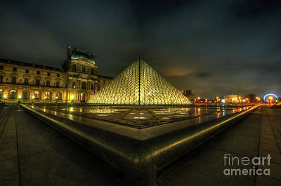 Photograph - Louvre 1.0 by Yhun Suarez