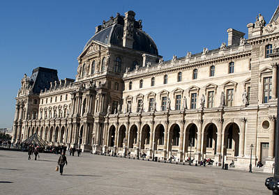 Photograph - Louvre 2682 by Charles  Ridgway