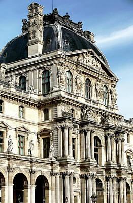 Louve Photograph - Louvre Columns by John Rizzuto