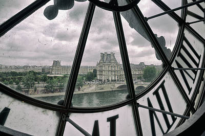 Photograph - Louvre From Musee D'orsay by Chevy Fleet