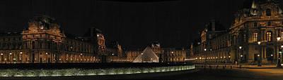 Louvre Art Print by Gary Lobdell