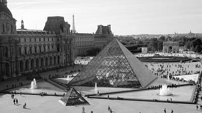 Arc De Triomphe Du Carrousel Wall Art - Photograph - The Louvre by Product Pics