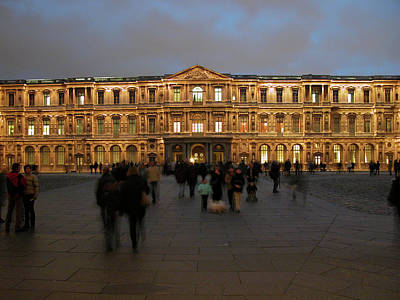 Photograph - Louvre Palace, Cour Carree by Mark Czerniec