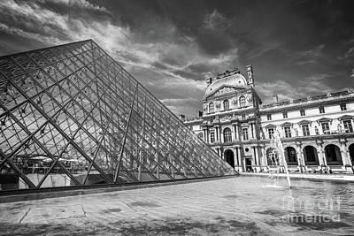 Louvre Palace, Paris Art Print