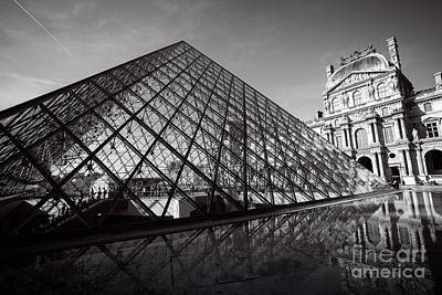 Photograph - Louvre Reflection by Scott Kemper