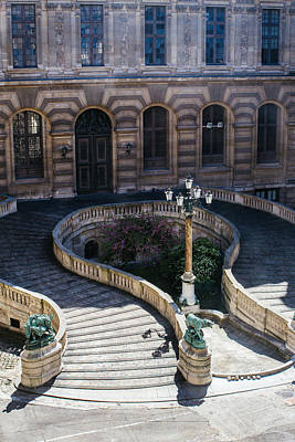 Louvre Staircase Art Print by Pati Photography