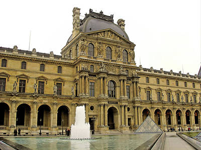 Photograph - Louvre Study 1 by Robert Meyers-Lussier