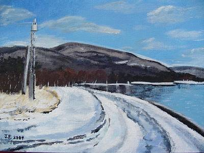Painting - Lovat's Point by Jesslyn Fraser