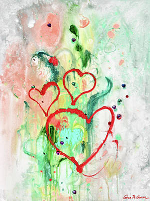Painting - Love 2 by Gina De Gorna