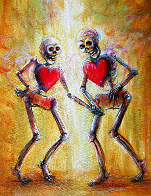 Painting - Love 2 Love by Heather Calderon